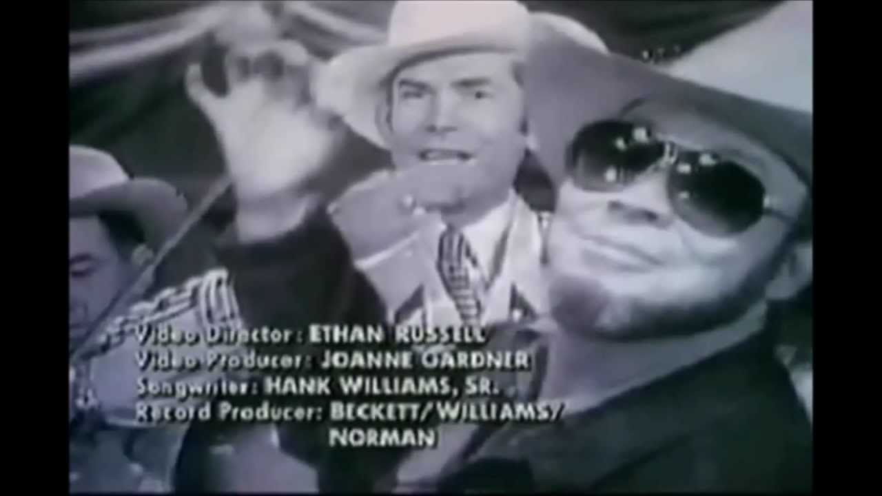Hank Williams, Jr Theres a Tear in my Beer - YouTube