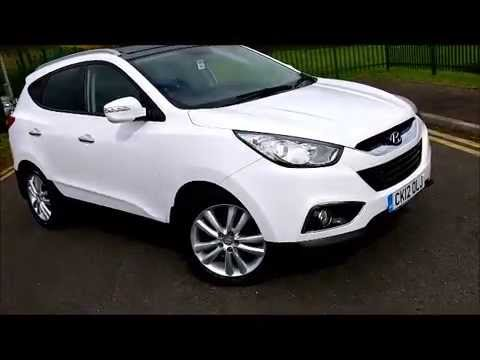 2012 hyundai ix35 2 0 crdi premium 4wd big spec just 17 000 miles youtube. Black Bedroom Furniture Sets. Home Design Ideas