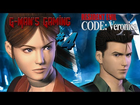 G-Man's Gaming - Resident Evil Code Veronica X Part 4 - The Palace