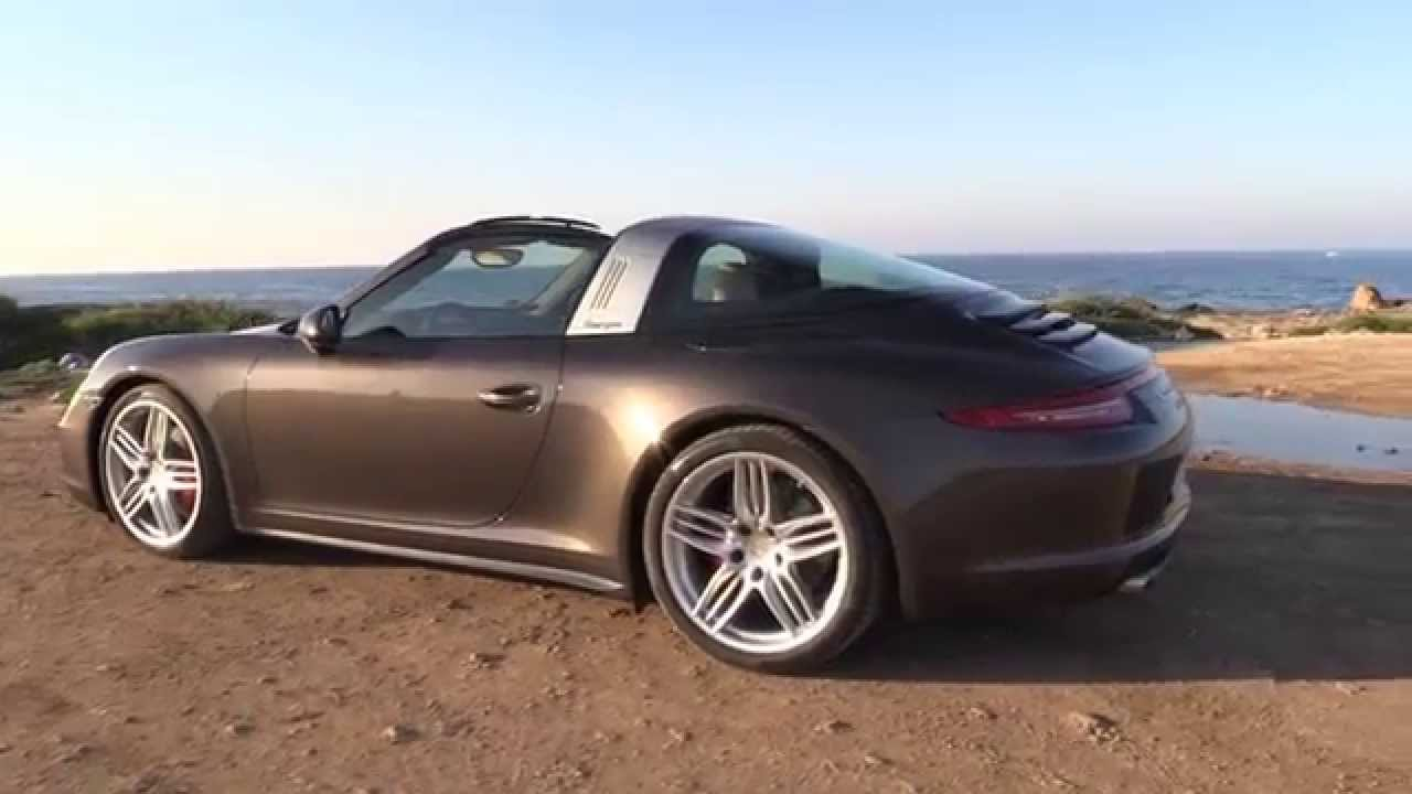 2015 Porsche 911 Targa 4s Test Review Autogef 252 Hl Youtube