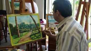 Aula de Pintura Módulo I Curso de Desenho e Pintura Unifor.avi