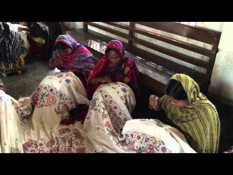 Nakshi Kantha Embroidery (BRAC-Aarong) Part 1
