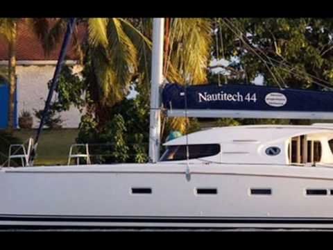 Charter catamaran Nautitech 44 in Greece.wmv