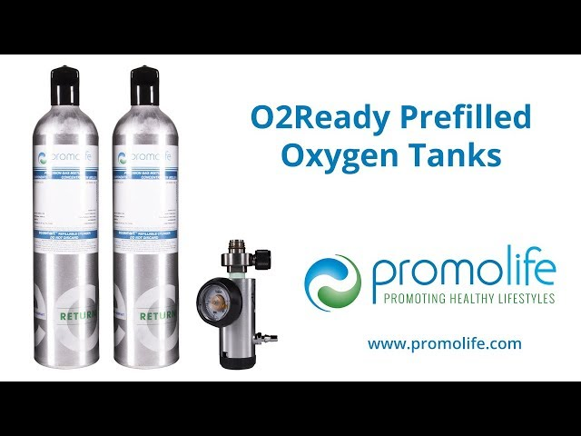 O2Ready Prefilled Oxygen Tanks at Promolife