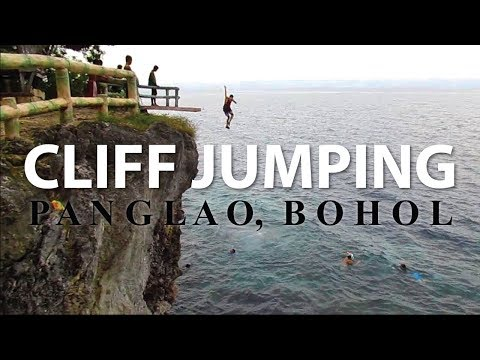 Cliff Jumping and Snorkeling in Kalikasan and Alexis Cliff Dive Panglao Bohol (2018)