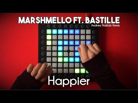 Marshmello ft. Bastille - Happier // Launchpad Pro Cover/Remix