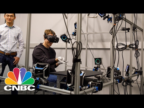 Facebook's Mark Zuckerberg Teases Oculus Gloves: Bottom Line | CNBC