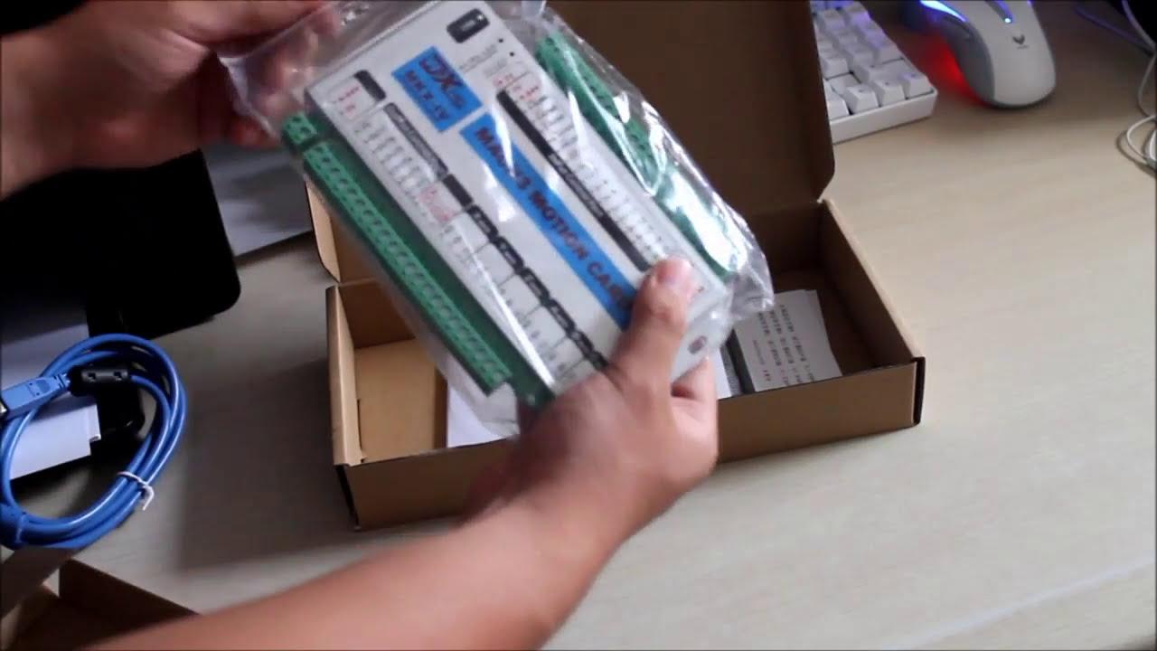 Mach3 cnc USB XHC-MK4 CNC Controller-3 axis 4 axis 6 axis Motion Control  Card 2MHz Windows 7, 10