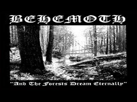 Behemoth - And The Forests Dream Eternally EP 1993 Raro