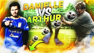 DANIELLE VS ARTHUR #1 : les tirs au but