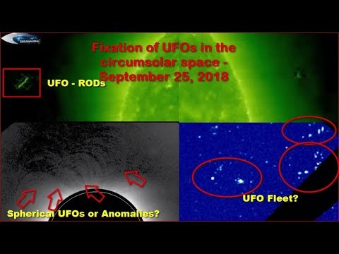 nouvel ordre mondial | Fixation of UFOs in the circumsolar space - September 25, 2018