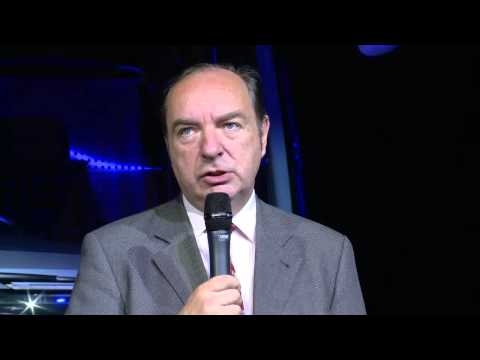 Norman Baker Opens Coach and Bus Live 2013