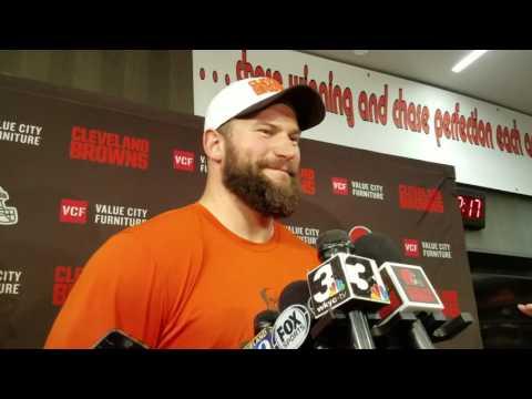 Cleveland Browns LT Joe Thomas discusses winning team