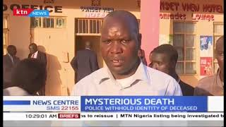 Man\'s body dumped at construction site in Uasin Gishu County