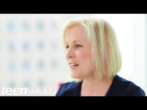 Senator Kirsten Gillibrand Talks to Her 18-Year-Old Self | Teen Vogue