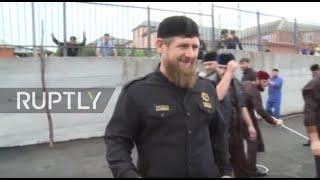 Russia: Ramzan Kadyrov leads camel sacrifice to mark Eid al-Adha *GRAPHIC*