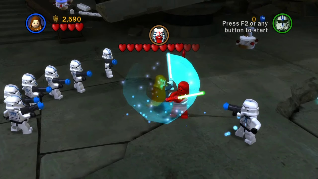 Lego Star Wars The Complete Saga Pc Mod Fan Made Order 66 Youtube