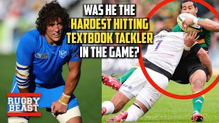 Was he the hardest textbook tackler in the game?