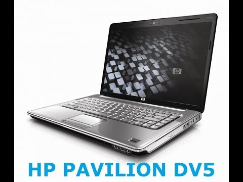 HOW TO: Disassembly HP pavilion dv5 - YouTube