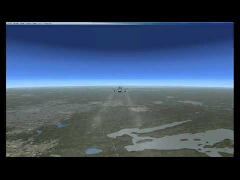 American Airlines Flight 11 Reconstruction with ATC Recording - September 11 2001