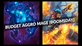 Budget Aggro Mage [Boomsday] - Cosmic Anomaly crushes Miracle Rogue