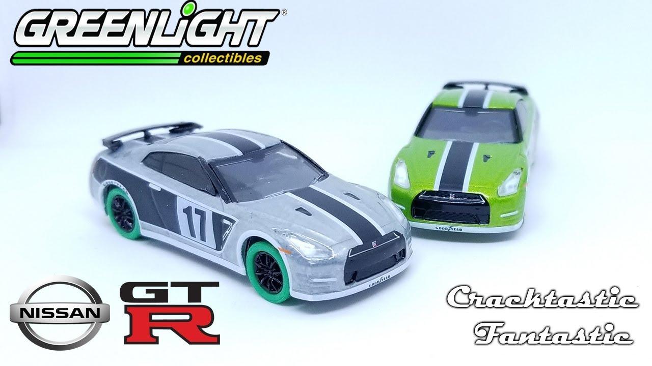 Cracktastic Fantastic: Mexico City Diecast Convention Greenlight 2015 Nissan  GTR R35 (green)