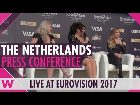 "Netherlands Press Conference — OG3NE ""Lights And Shadows"" Eurovision 2017 