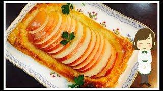 オープンアップルパイ|てぬキッチン/Tenu Kitchenさんのレシピ書き起こし
