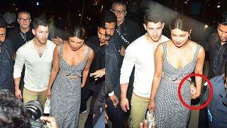 Priyanka Chopra CAUGHT With Boyfriend Nick Jonas In Mumbai Meeting Her Parents To Discuss MARRIAGE