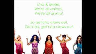 The Saturdays - All Fired Up (Lyrics)