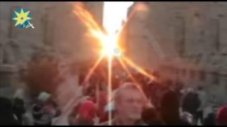 بالفيديو:تعامد الشمس علي الكرنك شمال الاقصر