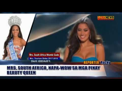 MRS. SOUTH AFRICAN, HANGA SA PINAY BEAUTY QUEEN