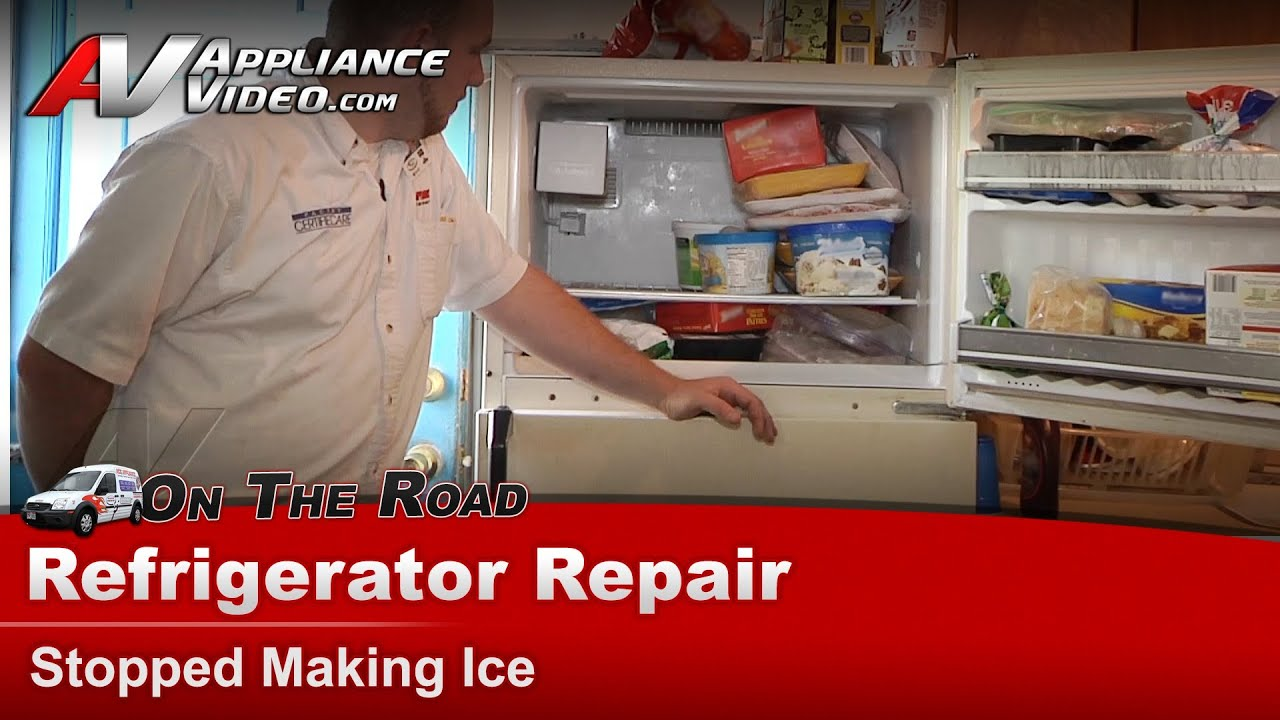 Kenmore    Refrigerator Repair  Stopped Making Ice  3639738780  YouTube