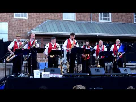 Grandpa Spells: Sultans of Sax at Providence Waterfire 2014