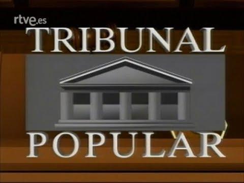 Tribunal Popular 1989 Cabecera. Programa de TVE