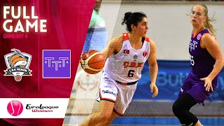 Gelecek Koleji Cukurova v TTT Riga - Full Game -  EuroLeague Women 2019-20