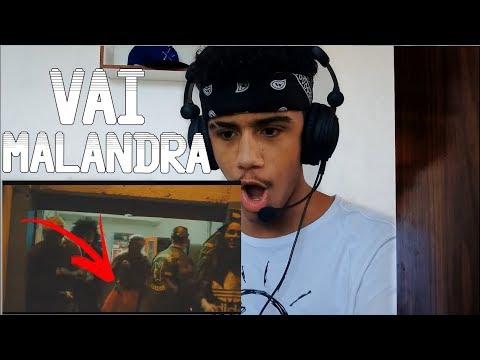 REAGINDO A Anitta Mc Zaac Maejor ft Tropkillaz & DJ Yuri Martins - Vai Malandra