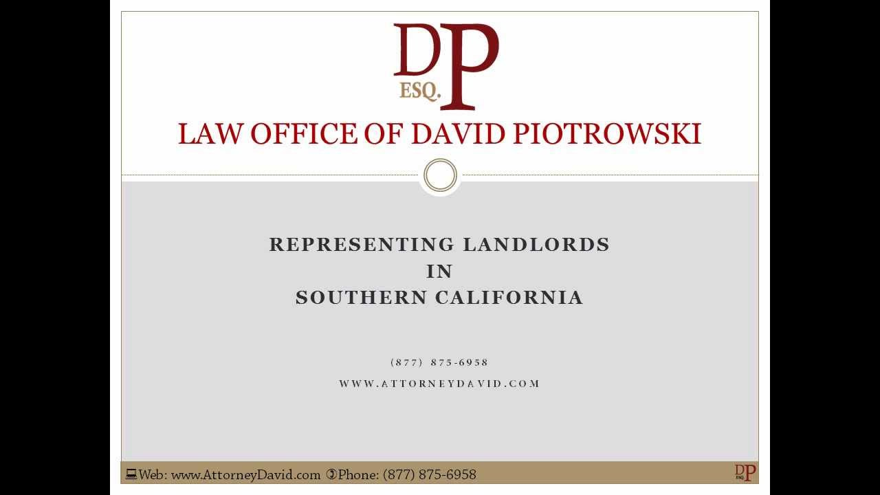 3 day notice to pay rent or quit in california youtube