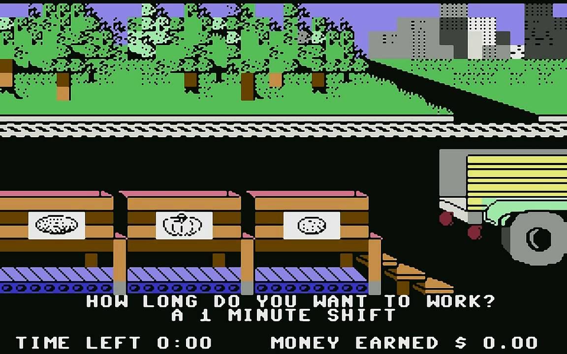 Donald Duck's Playground (c64) longplay