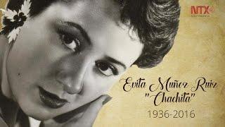 "Fallece Evita María Muñoz Ruiz ""Chachita"""