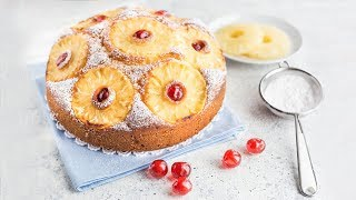 TORTA SOFFICE ALL'ANANAS Ricetta Facile - Easy Pineapple Cake Recipe