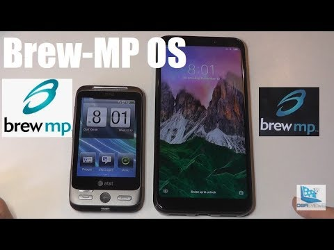 Retro Review: HTC Freestyle, Brew-MP OS Phone!