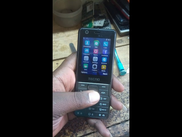 Tecno t341 how to remove input password