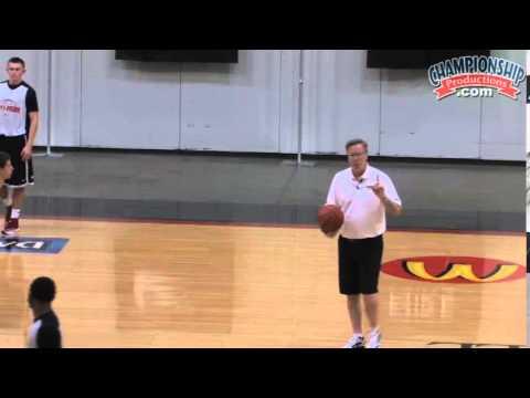 Dictate Game Tempo Using Fran McCaffery's 1-2-2 Press! - Basketball 2015 #18