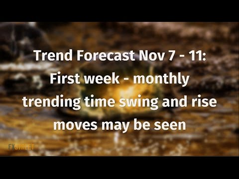 Trend Forecast Nov 7 - 11: First week - monthly trending time swing and rise moves may be seen