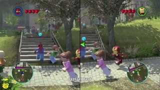 Lego Marvel Super Heroes - The Co-op Mode