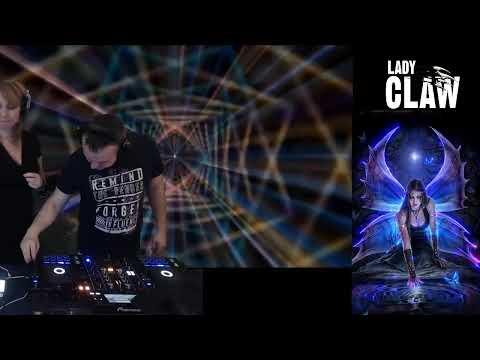Trance LadyClaw b2b Pyzdra - set 25.05.2019