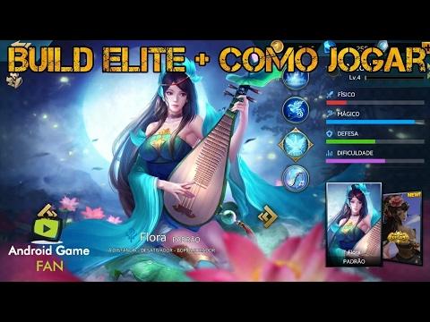 Flora (Lotus) - Build Elite + Como Jogar - Heroes Evolved