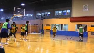 バスケット関西【前半戦】マックスバリュー vs ガンダム