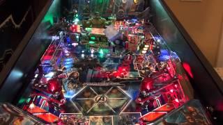 Avengers Pro Pinball gameplay in 3D FULL HD!